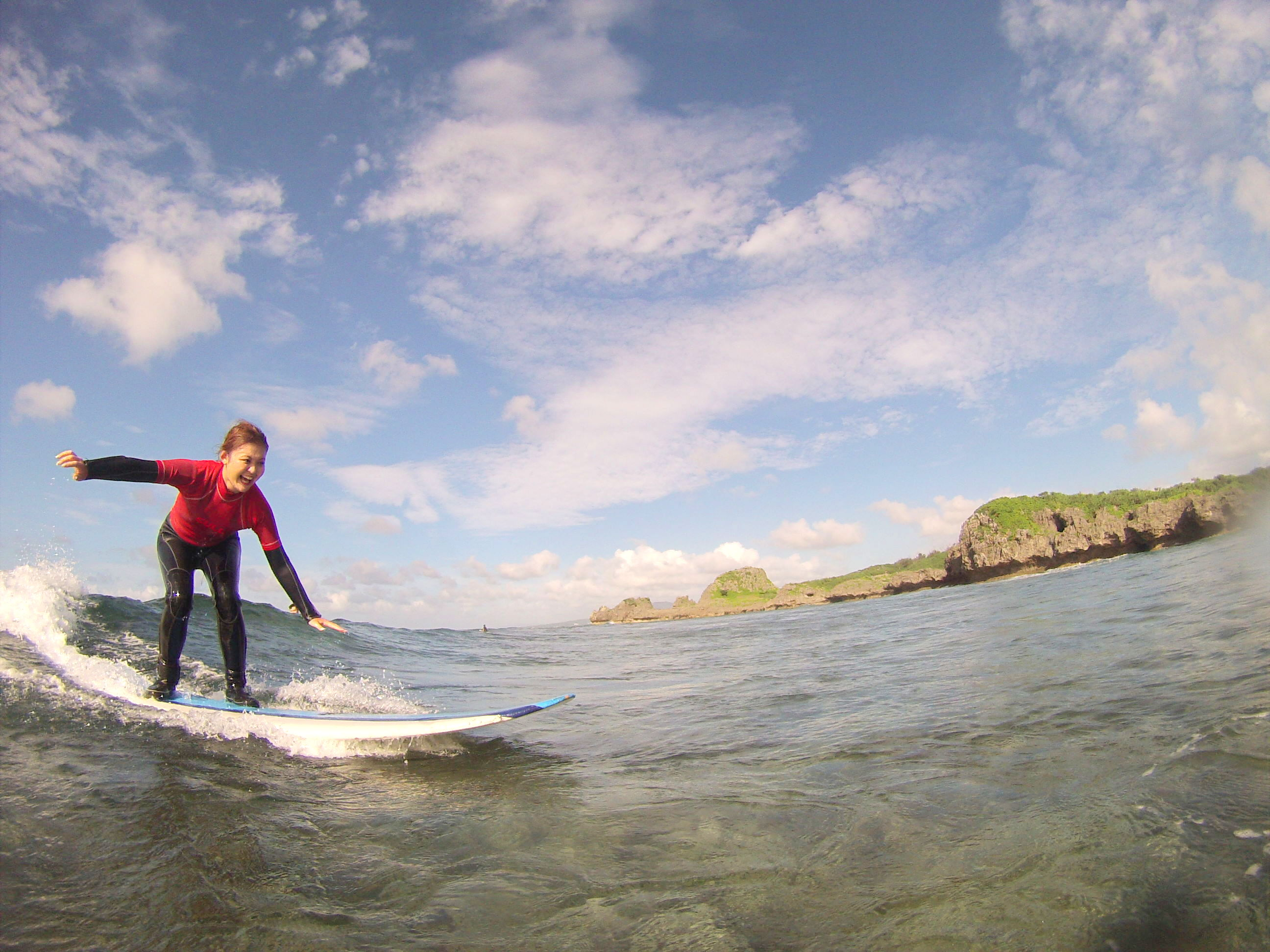 Surfing for the first time1