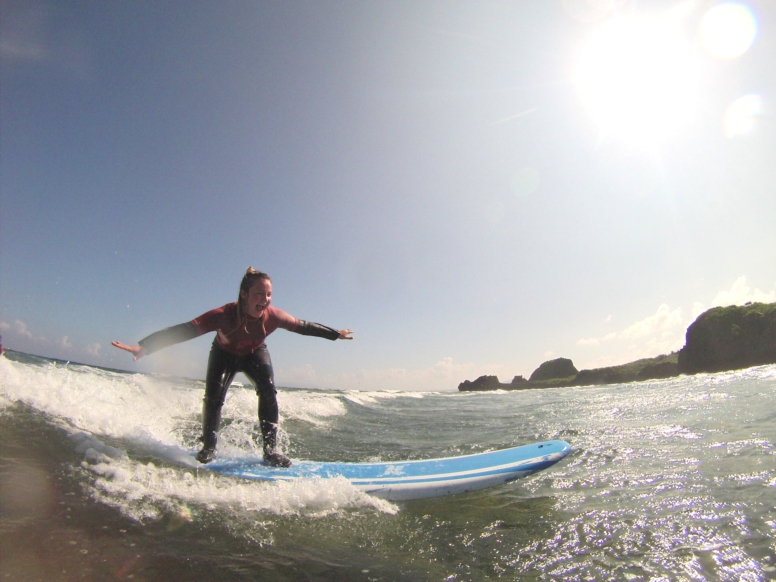 Surfing for the first time4