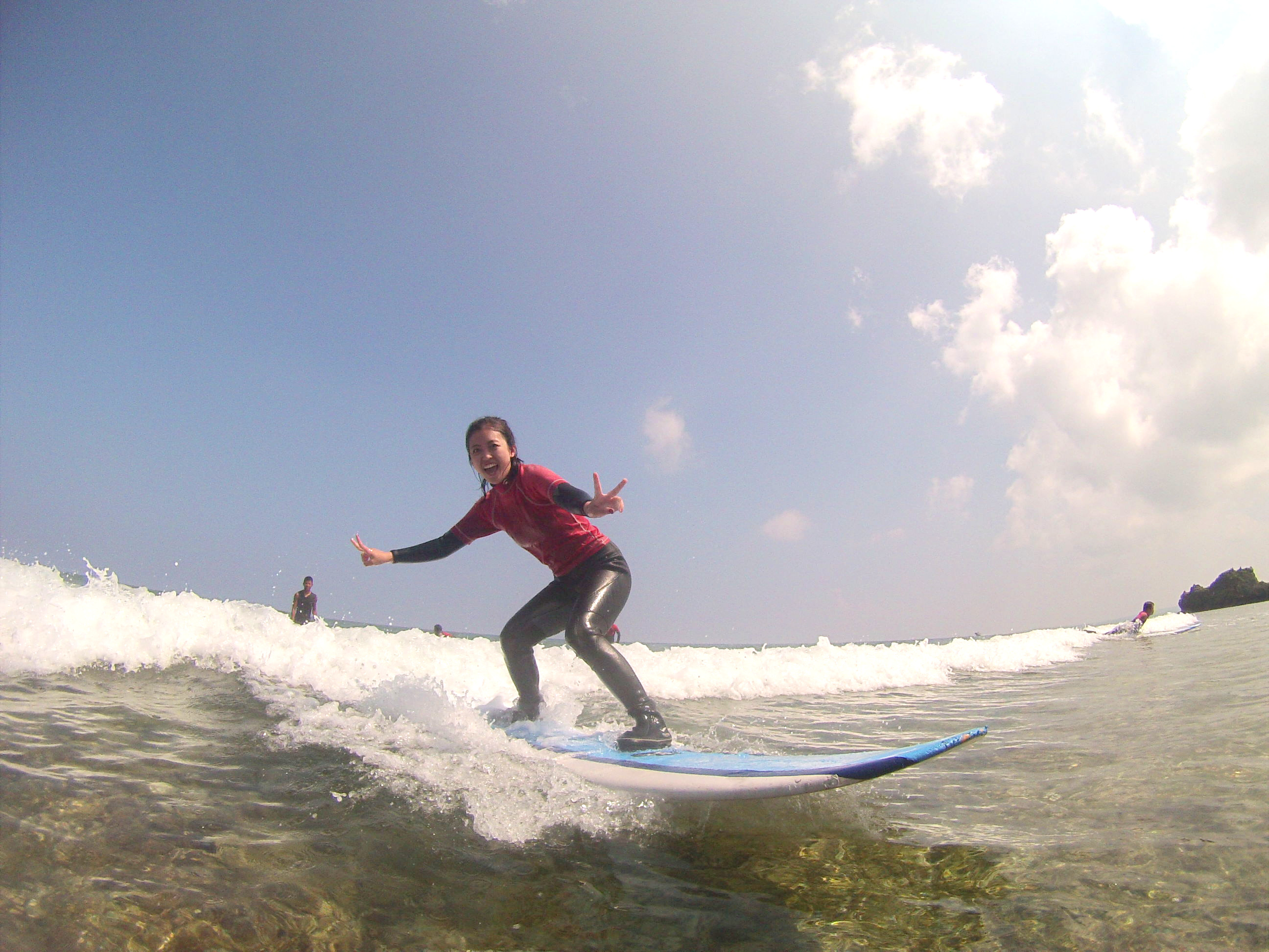 Surfing for the first time6