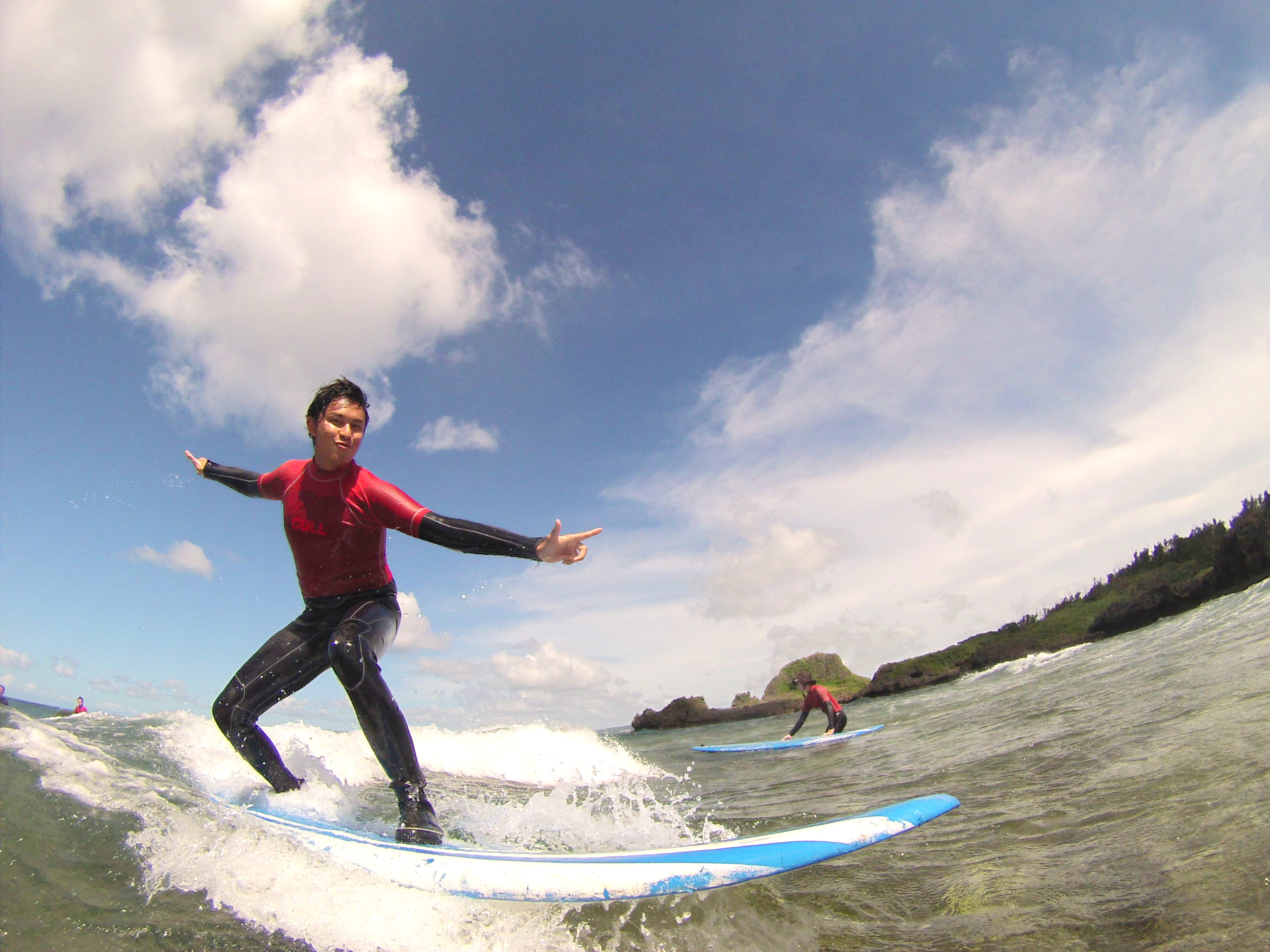 Surfing for the first time5