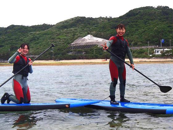 海外からSUPやサーフィン楽しむゲスト
