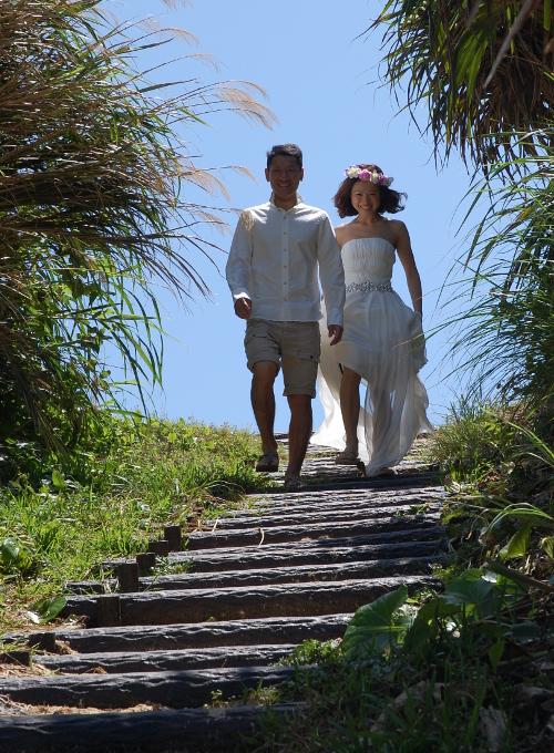 沖縄の大自然から結婚の祝福