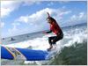 体験ロングボードサーフィン