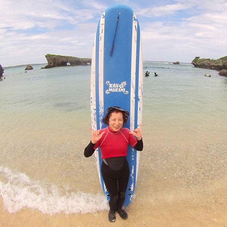60才以上からのサーフィン!